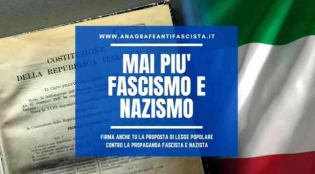 PD Cremona Prolungamento raccolta firme proposta legge antifascista