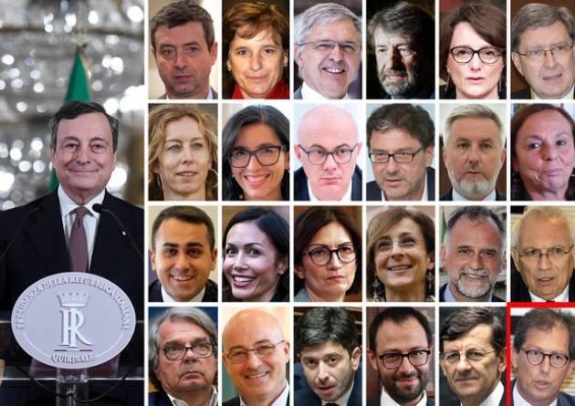 Governo Draghi giura, l'Italia non è un paese per donne | Isa Maggi