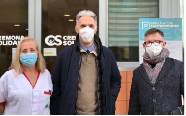 Il Dott. Reggiani arriva a Cremona Solidale