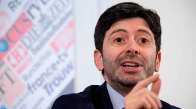 Lotta Covid Speranza stop impianti sci fino 5/3 Ricciardi chiede lockdown totale