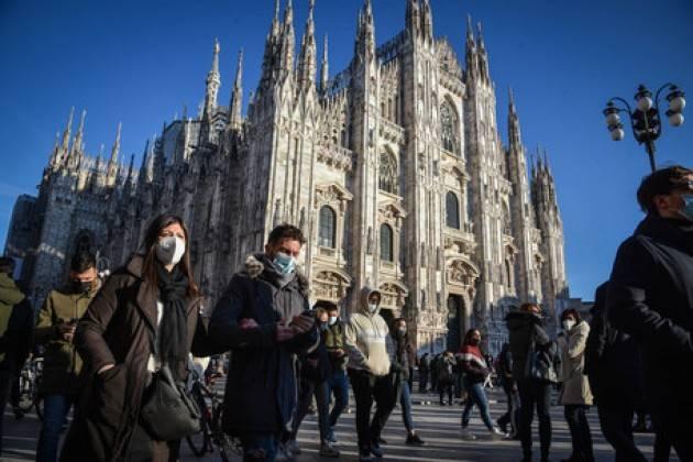 Brescia supera Milano per contagi, 1987 casi lombardi