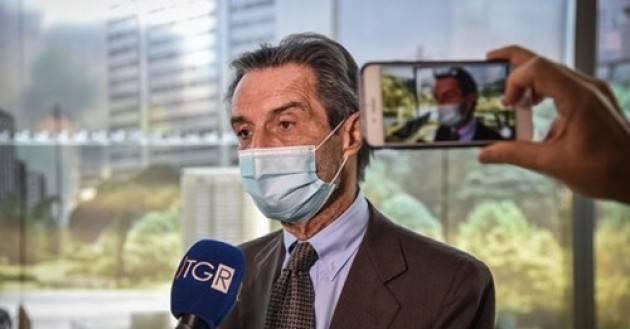 """FONTANA '' """"Il governo non autorizza acquisti dalle Regioni, le dosi non bastano"""""""