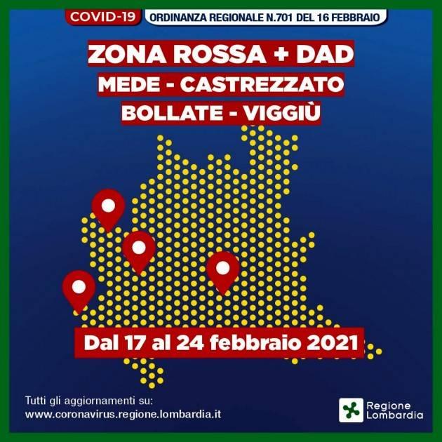Matteo Piloni (PD):  Regione può prevedere singole zone rosse sul territorio.