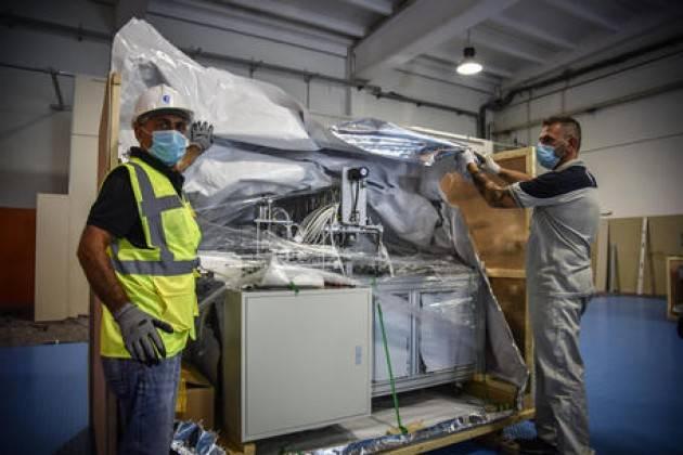 Industria: produzione 2020 in Lombardia -9,8%, meglio stime