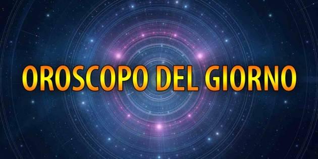 OROSCOPO DI OGGI GIOVEDI' 18 FEBBRAIO 2021