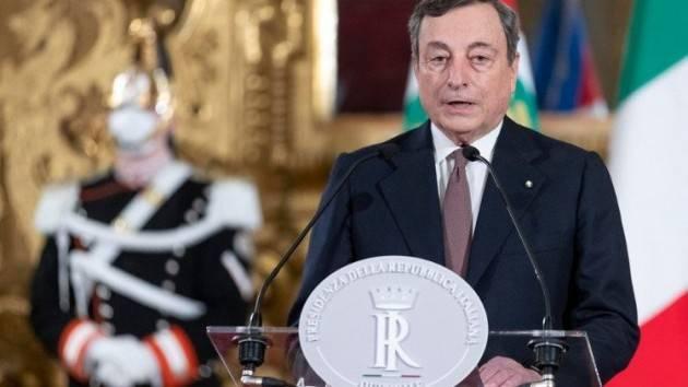 ADUC Governo. Il discorso del presidente Draghi