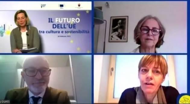 IL FUTURO DELL'EUROPA: CULTURA E SOSTENIBILITÀ