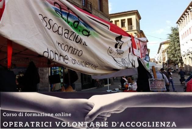 Cremona A.I.D.A. oDV - Corso formazione online aspiranti volontarie accoglienza