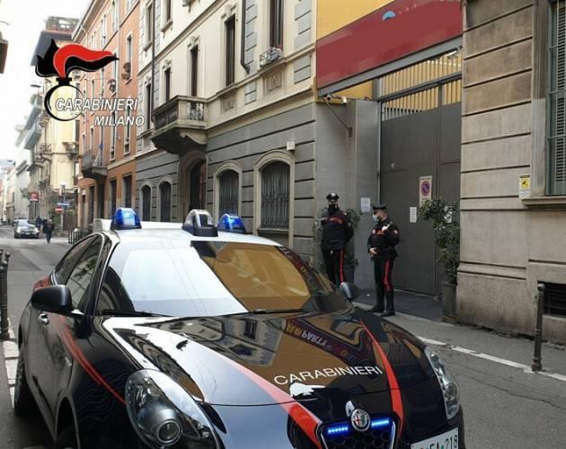 FESTA CON RISSA A MILANO : 30 MULTATI E LOCALE CHIUSO