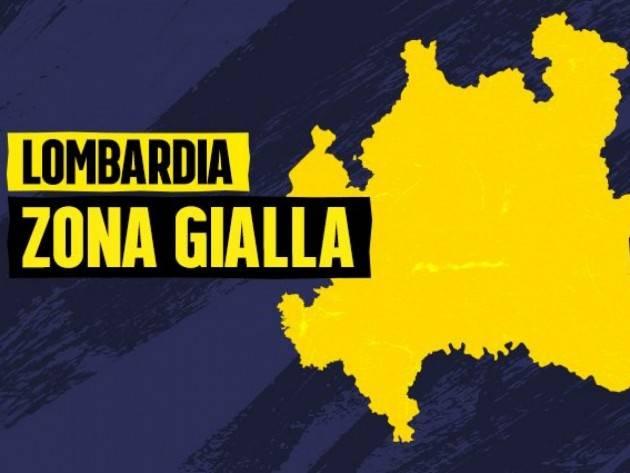 ZONA GIALLA IN REGIONE LOMBARDIA BRUCIA 440 MILIONI DI EURO
