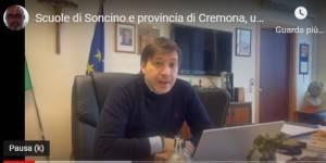 UST Scuole di Soncino e provincia di Cremona, messaggio provveditore Molinari
