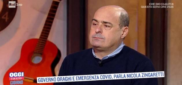 Instancabili!! Partita la campagna contro Zingaretti |Gino Scrimizzi