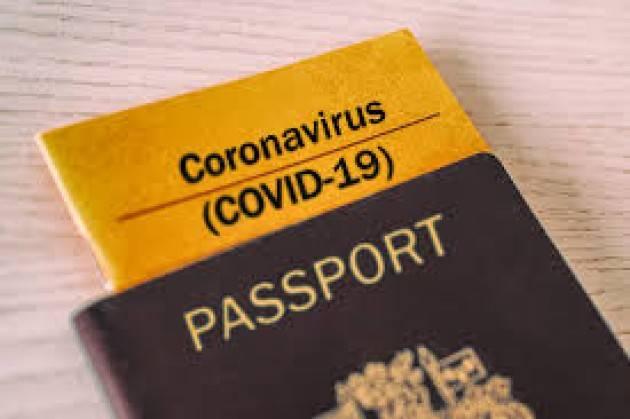 Passaporto vaccinale per gli Stati dell'UE