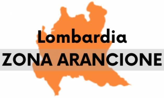LOMBARDIA RI-DIVENTA ARANCIONE
