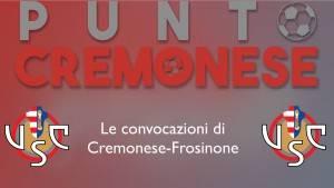 Punto grigiorosso: i giocatori convocatori per la partita Cremonese-Frosinone