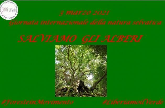 CNDDU 3 marzo. Giornata mondiale natura selvatica 2021