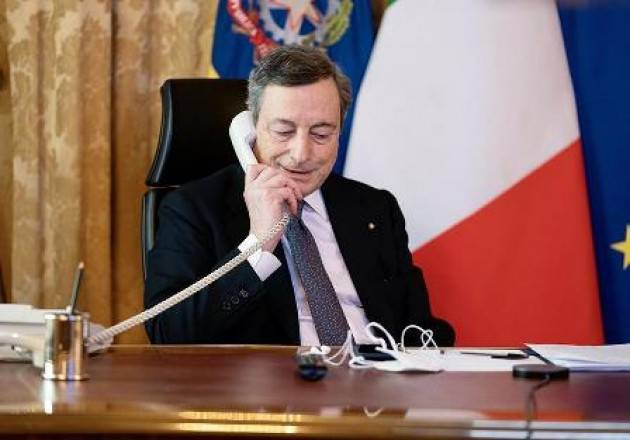 CONVERSAZIONE TELEFONICA DRAGHI - VON DER LEYEN