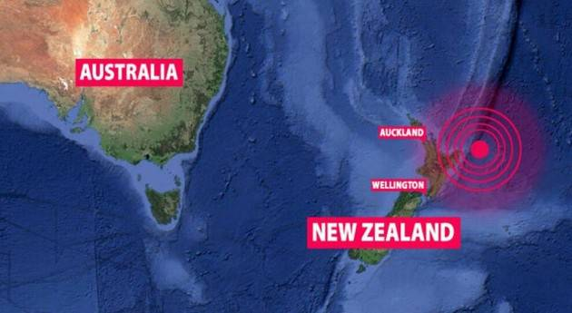 Sisma in Nuova Zelanda di magnitudo 8.1, allarme tsunami in tutto il Pacifico