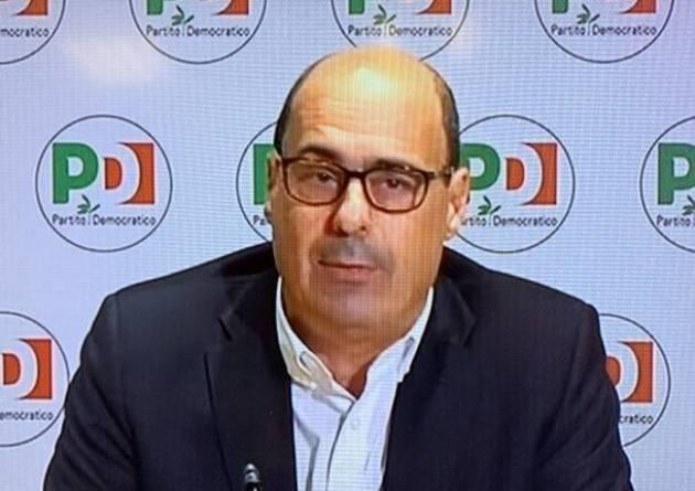 Dopo Zingaretti. Serve nuovo centrosinistra con anche il M5S |  Arti.Uno Cremona