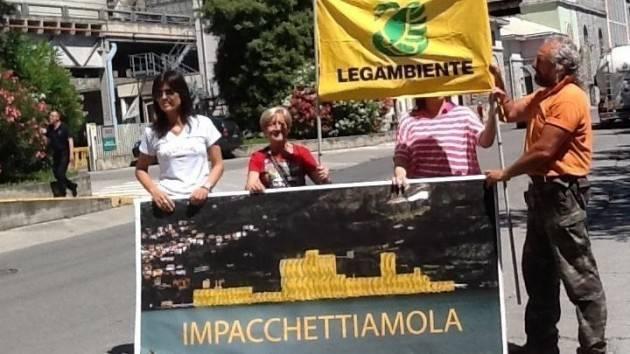 Firma Petizione Legambiente Basso Sebino: Liberiamo Tavernola dal cementificio