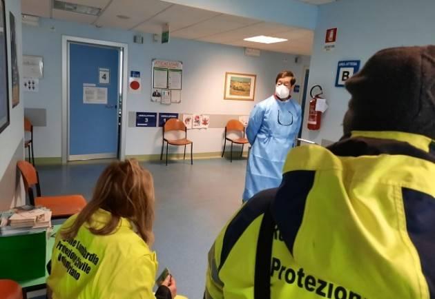 Provincia Cremona iniziate le operazioni di vaccinazione dei Volontari di Protezione Civile