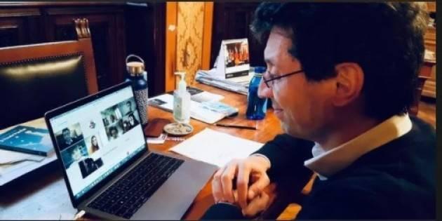 Cremona Galimberti e M.Ruggeri incontrano-on line- la consulta degli studenti