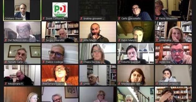 Enrico Letta segretario PD con 860 voti favorevoli, 2 contrari, 4 astenuti.