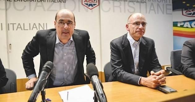 Enrico Letta non serve un nuovo segretario del  PD ma un nuovo PD | G.C.Storti