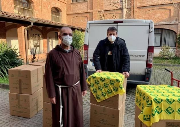 Coldiretti Cremona, proseguono consegne solidali  famiglie difficoltà
