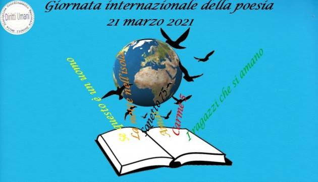 CNDDU  21 marzo. Giornata internazionale della poesia