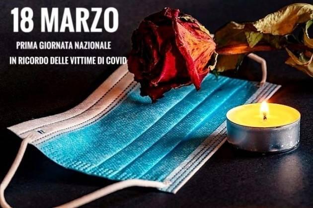 Matteo Piloni (PD) Oggi è il giorno dedicato a tutte le vittime del covid.