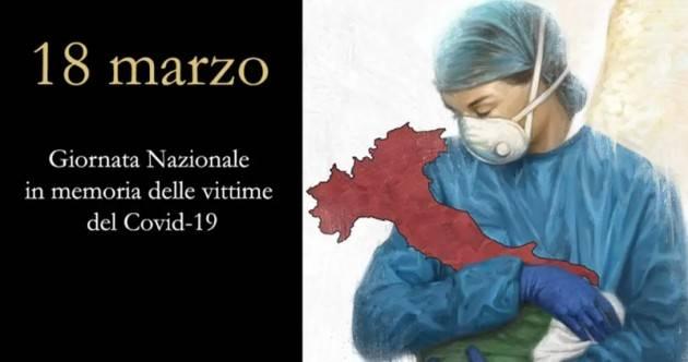 CNDDU 18 marzo. Adesione Giornata nazionale ricordo  vittime del Covid 19