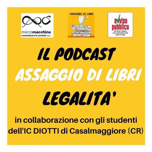 Il podcast sulla legalità - IC DIOTTI Casalmaggiore il 21 marzo