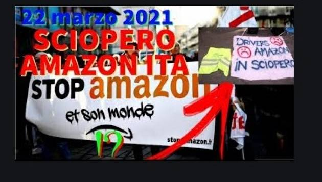 NO ACQUISTI AMAZON IN SOLIDARIETA'  DIPENDENTI IN LOTTA | F.BERARDI PRC-SE