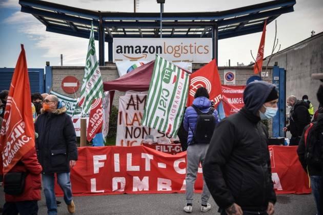 Cgil-Cisl-Uil Oggi, 22 marzo,Sciopero Amazon di 24 ore in tutta Italia.