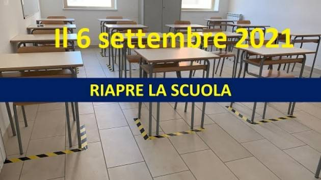 Il nuovo anno scolastico inizia prima, spunta la data del 6 settembre 2021