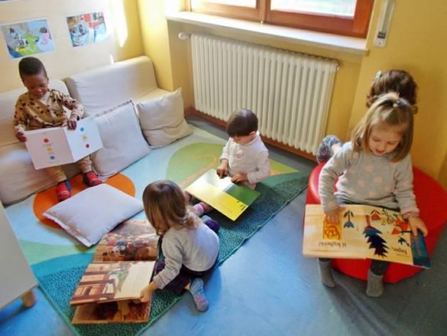 Piacenza Da oggi al nido in presenza, a rotazione, circa 120 bambini.