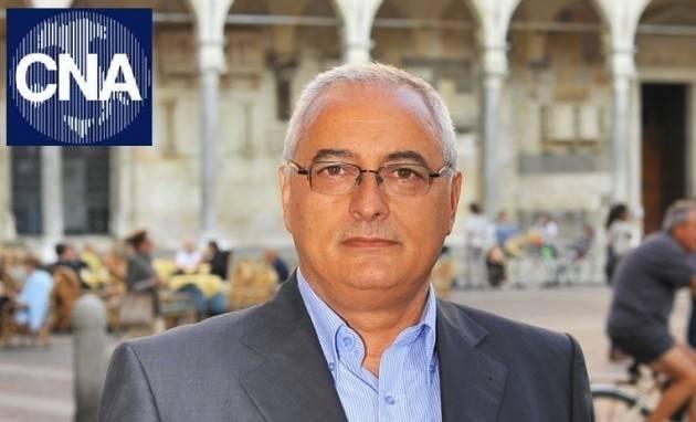 Bozzini (CNA): Troppe imprese ancora escluse da contributi con la soglia al 30%.