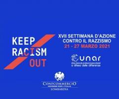 CONFCOMMERCIO LOMBARDIA ADERISCE A SETTIMANA ''KEEP RACISM OUT''