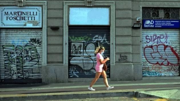 Lombardia, 22 mld di calo consumi nel 2020