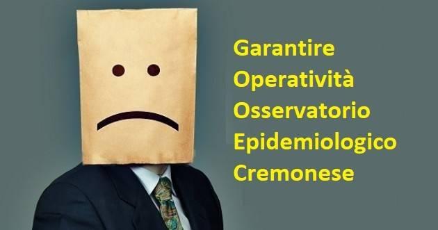 Garantire attività Osservatorio epidemiologico Lettera aperta ad ATS Valpadana
