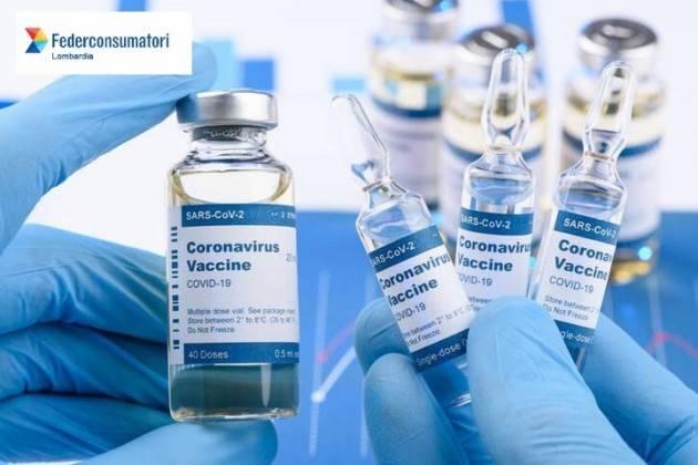 Federconsumatori  Lombardia Piano vaccinale: ancora non ci siamo!