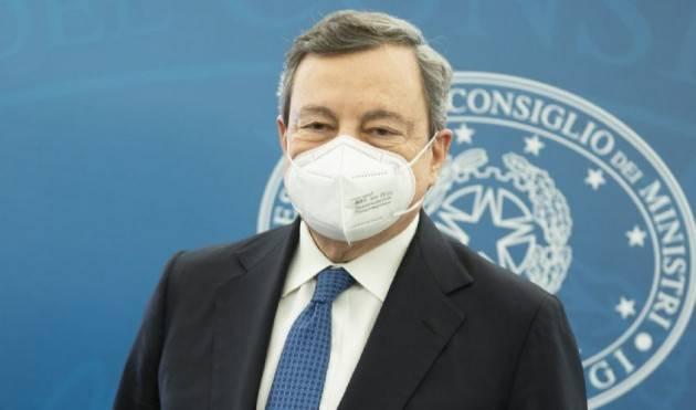 Mario Draghi Bacchetta Salvini sulle chiusure e riapre le scuole dopo Pasqua