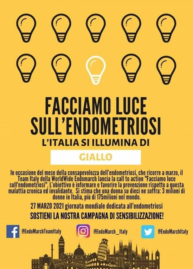 Cremona aderisce alla Virtual EndoMarch 'Facciamo luce sull'endometriosi'