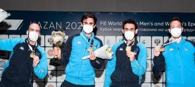Fichera e Santarelli spade d'oro in Coppa del mondo
