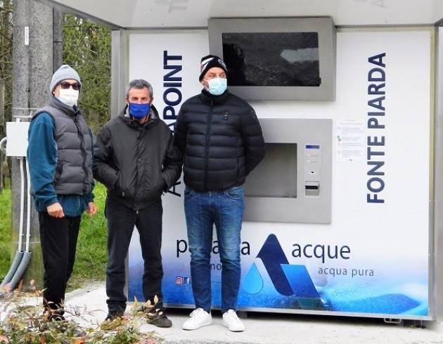 Crotta d'Adda, Padania Acque : è in funzione la casa dell'acqua 'Fonte Piarda'