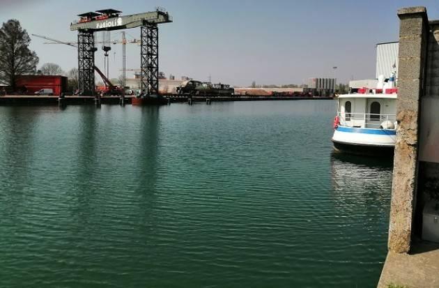 Cremona Signoroni:  Occorre rendere navigabile il Po sino all'Adriatico.
