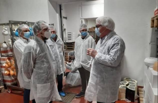 Matteo Piloni (PD) VISITA ALL'AZIENDA CHIODO DI RIPALTA CREMASCA.