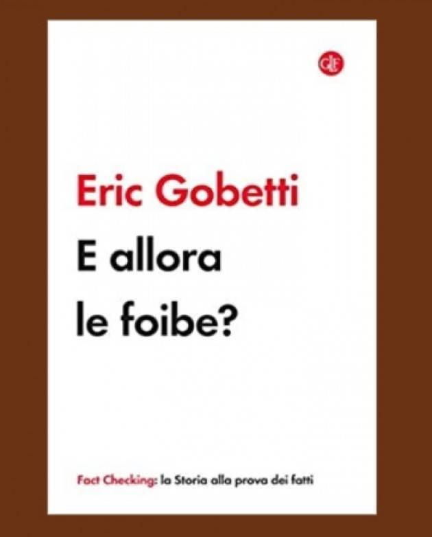 Anpi Casalmaggiore Carlo Greppi presente il libro di Eric Gobetti 'E allora le Foibe'