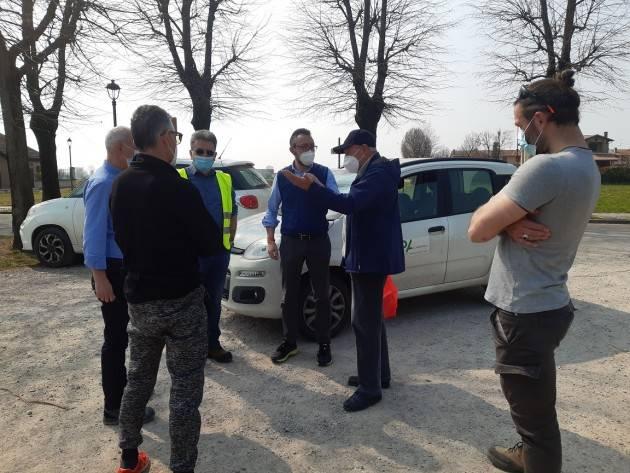 Sergnano Sopralluogo di Arpa Lombardia all'ex discarica in località Mirabelllo